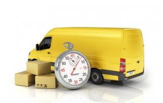 Transporter mit versichertem Versand
