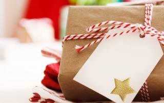 Geschenkverpackung für Weihnachtsgeschenke